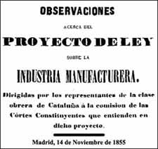 Portada del document del 14-11-1855